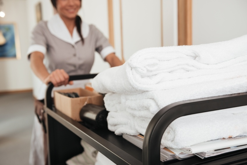 The best way to protect the panic buttons that protect hotel employees